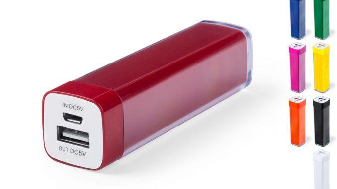 Batterie externe powerbank à personnaliser