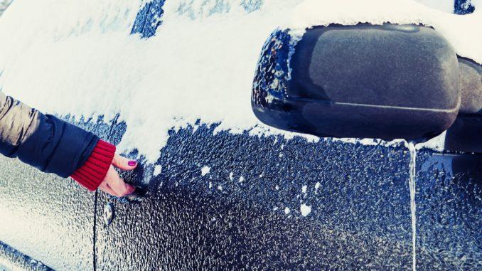 dégeler une serrure en pleine hiver